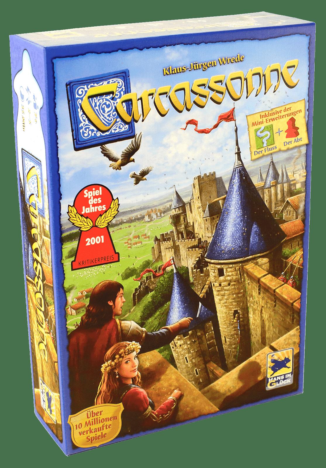 Настольная игра Carcassonne original (Каркассон)