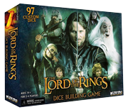 Настольная игра The Lord of the Rings Dice Building Game