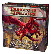 Настольная игра Dungeons & Dragons: Wrath of Ashardalon