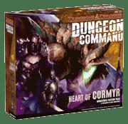 Настольная игра D&D Dungeon Command: Heart of Cormyr. Коробка с игрой