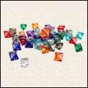Кубики D8. Прозрачный