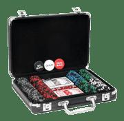 Настольная игра Покерный набор в кейсе VIP-200