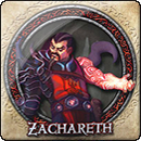 Descent: Journeys in the Dark. Lieutenant Pack: Zachareth