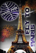 Пазл Эйфелева башня Париж (500 эл.)