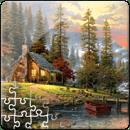 Пазл Дом в горах (500 эл.)