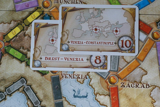 Настольная игра Ticket to Ride: Europe