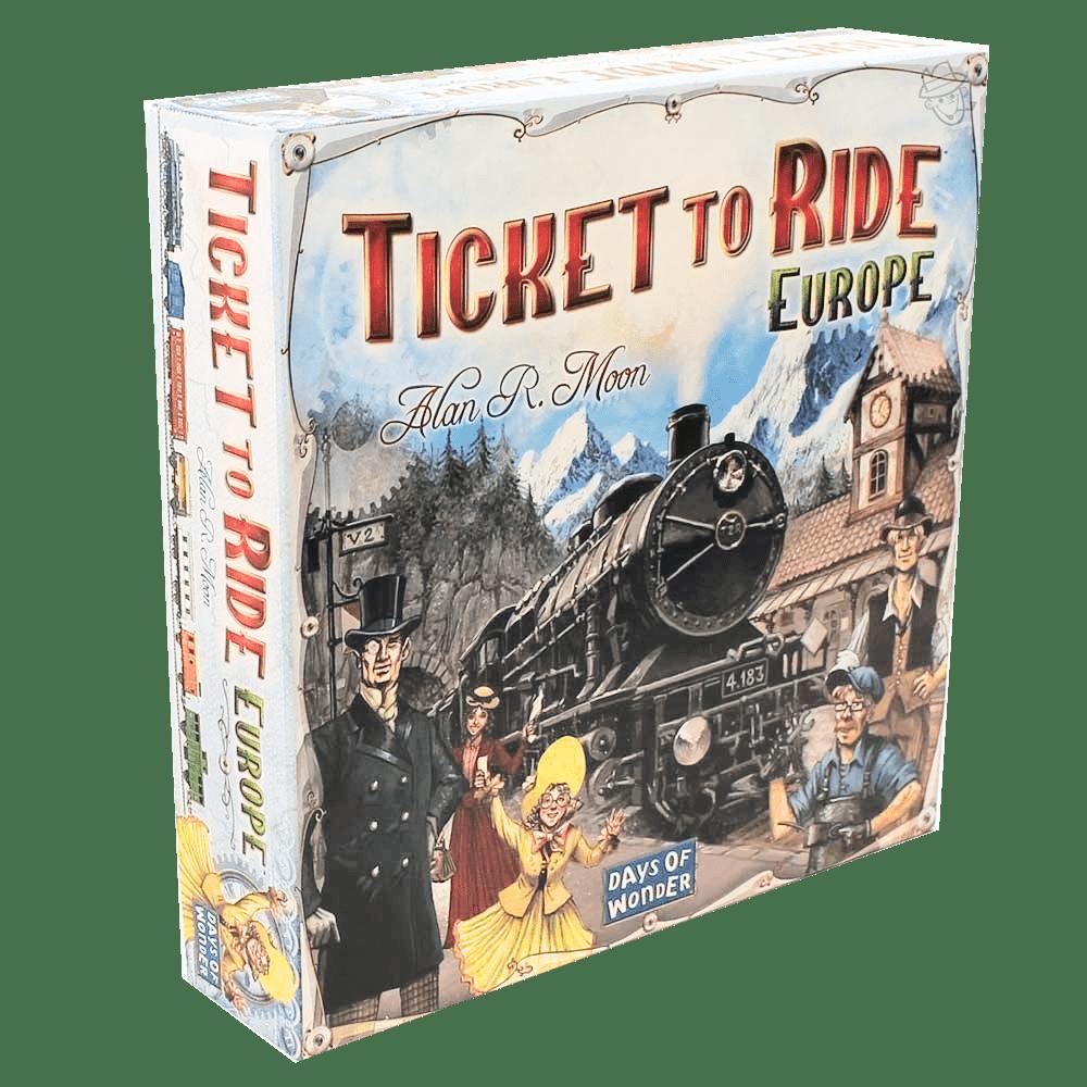 Настольная игра - Ticket to ride: Europe (Билет на поезд по Европе)