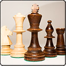 Шахматы турнирные, набор №5 Intarsia  (арт.2055)