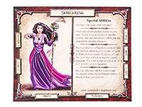 Talisman (Талисман). Карточка одного из персонажей
