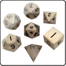 Набор металлических кубиков. Античное серебро