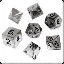 Набор металлических кубиков. Серебро