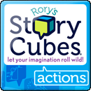 Rory's Story Cubes. Actions