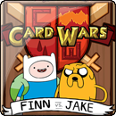 Adventure Time Card Wars: Finn vs. Jake + Подарок!