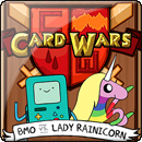 Adventure Time. Card Wars: BMO vs. Lady Rainicorn