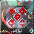 Arkham Horror Dice Set: Cursed