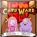 Adventure Time. Card Wars: Bubblegum vs. Lumpy Space Princess