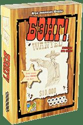 Настольная игра - Bang