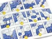 Игра головоломка Північний полюс: Зіграємо в схованки (Северный полюс: Сыгаем в прятки, North Pole: Camouflage). Буклет с заданиями разной сложности