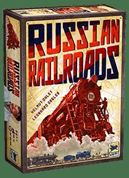 Настольная игра Russian Railroads (Русские железные дороги). Коробочка с игрой