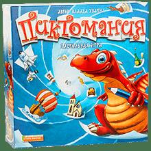 Настольная игра Номы Пиктомания (Pictomania). Коробка с игрой