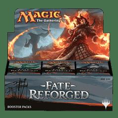 Коллекционная карточная игра Magic: The Gathering, дисплей бустеров сета Fate Reforged