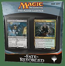 Коллекционная карточная игра Magic: The Gathering, Fate Reforged Clash Pack. Коробка с игрой