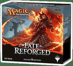 Fat Pack (Подарочный набор) сета Fate Reforged коллекционной карточной игры Magic: The Gathering. Коробочка с игрой