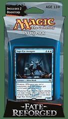 Коллекционная карточная игра Magic: The Gathering, начальный набор Fate Reforged Intro Pack - Cunning Plan. Коробка с игрой