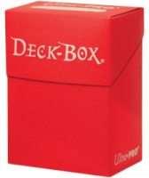 Коробка для карт Ultra Pro. Красная
