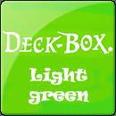 Коробка для карт Ultra Pro. Светло-зеленая