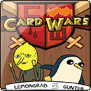 Adventure Time. Card Wars: Lemongrab vs. Gunter