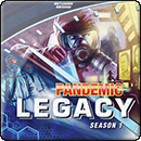 Pandemic. Legacy: Season 1. Blue box
