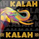 Kalah. Зі скляними камнями