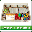 Органайзер для настольной игры Caverna + дополнения