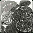 Металлические Монеты для игры «Rurik: Борьба за Киев»