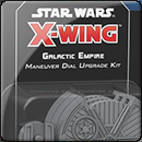 Star Wars X-Wing Second Edition. Galactic Empire Maneuver Dial Upgrade Kit