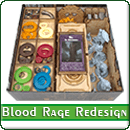 Органайзер для настольной игры Кровь и Ярость