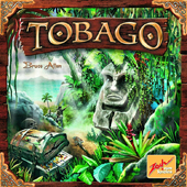 Настольная игра и коробка игры - Tobago (Тобаго)