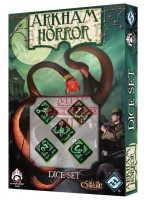 Arkham Horror Dice Set: Black