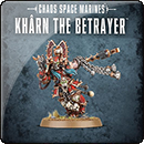 Warhammer 40000. World Eaters: Khârn the Betrayer