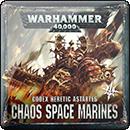 Warhammer 40000. Codex: Chaos Space Marines (Hardback)