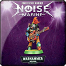 Warhammer 40000. Chaos Space Marines: Noise Marine