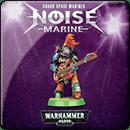 Warhammer 40000. Chaos Space Marines: Noise Marine