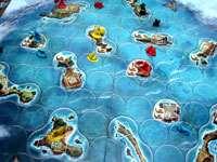 Настольная игра - Игра Киклады (Cyclades). Игровое поле