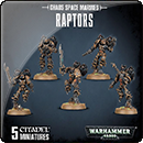 Warhammer 40000. Chaos Space Marines: Raptors