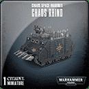 Warhammer 40000. Chaos Space Marines: Chaos Rhino