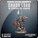 Warhammer 40000. Chaos Space Marines: Chaos Terminator Lord