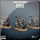 Warhammer 40000. Chaos Space Marines: Chaos Bikers