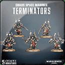 Warhammer 40000. Chaos Space Marines: Terminators