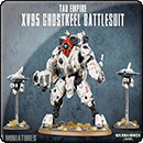 Warhammer 40000. Tau Empire: XV95 Ghostkeel Battlesuit